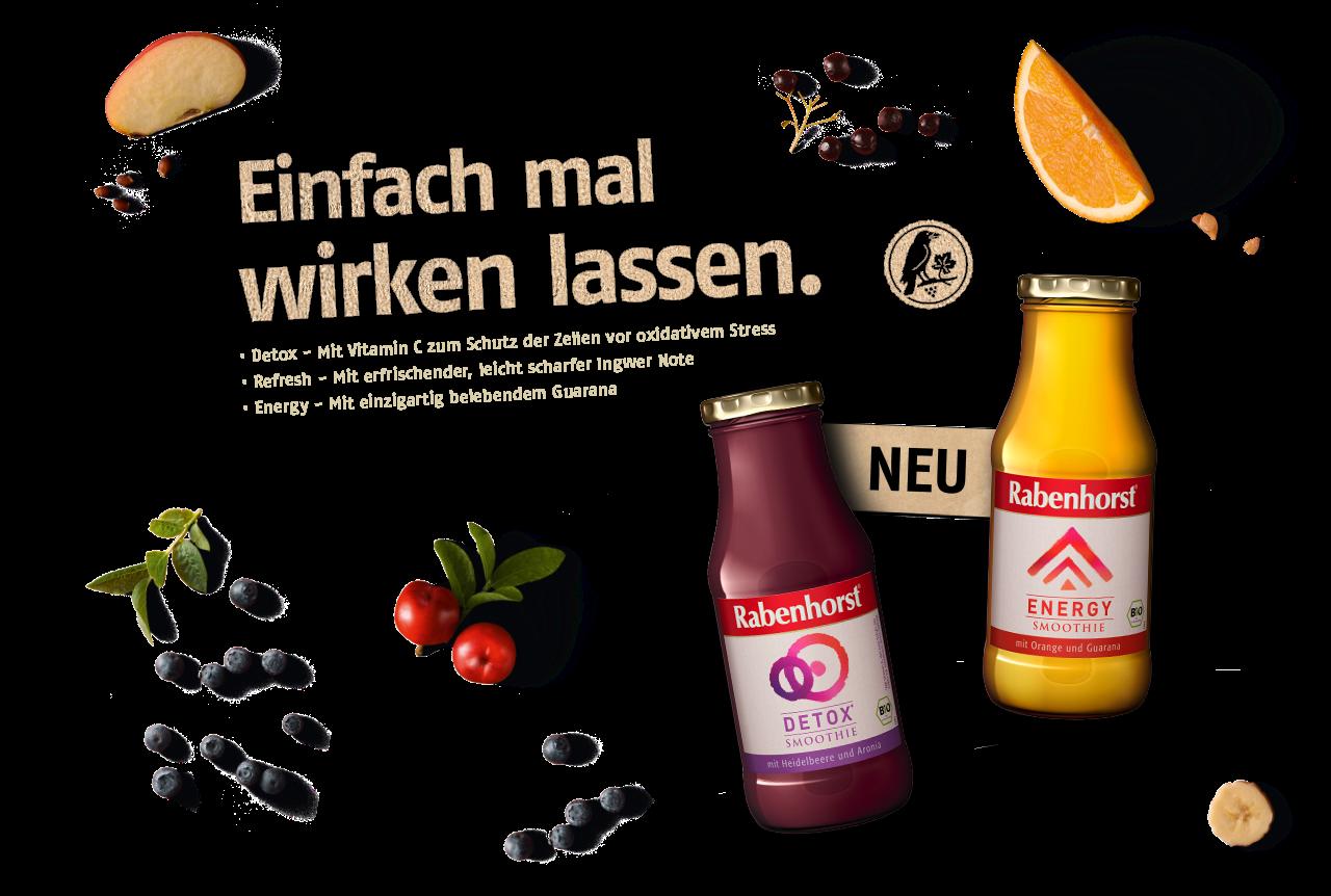 Abbildung: Rabenhorst Smoothies